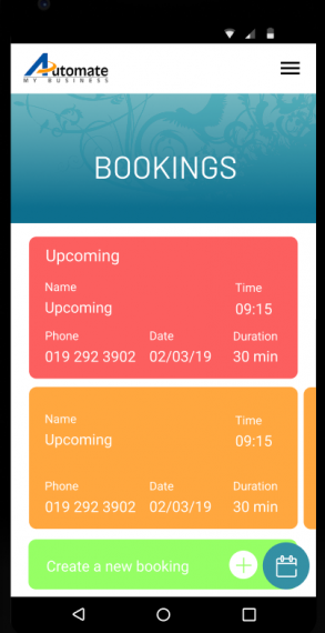 Test drive Salon Mobile App for 6 months