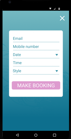 Test drive Salon Mobile App for 6 months